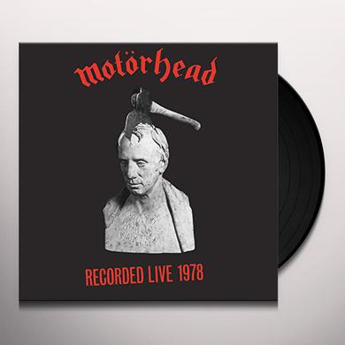 Motorhead WHAT'S WORDS WORTH Vinyl Record