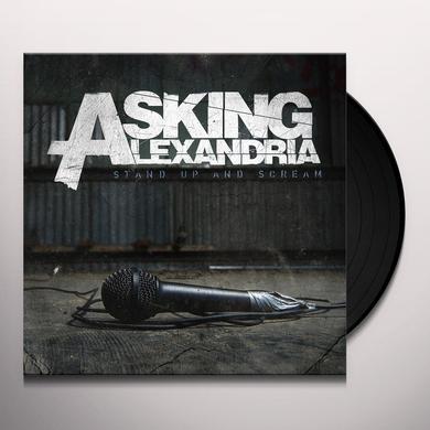Asking Alexandria STAND UP & SCREAM Vinyl Record