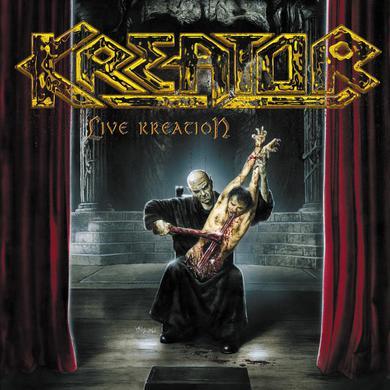 Kreator LIVE KREATION Vinyl Record