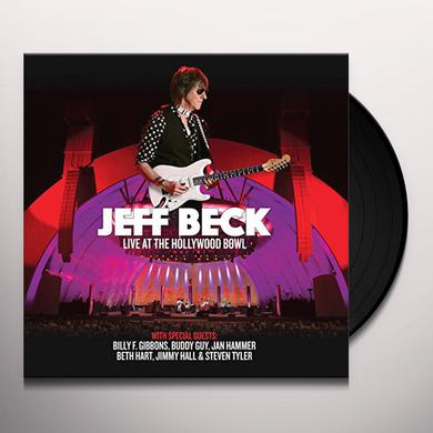 Jeff Beck LIVE AT THE HOLLYWOOD BOWL Vinyl Record