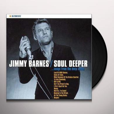 Jimmy Barnes SOUL DEEPER Vinyl Record