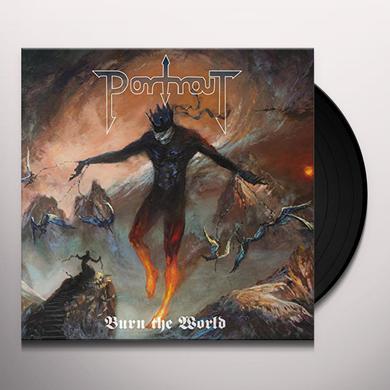 Portrait BURN THE WORLD Vinyl Record
