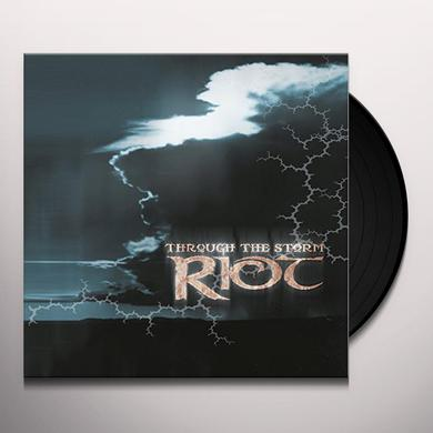 Riot THROUGH THE STORM Vinyl Record