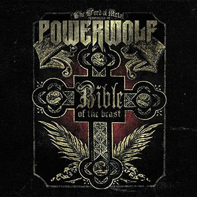 Powerwolf BIBLE OF THE BEAST Vinyl Record
