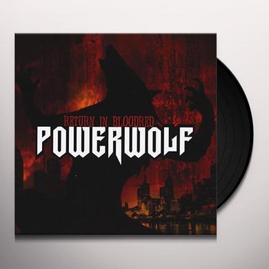 Powerwolf RETURN IN BLOODRED Vinyl Record