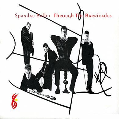 Spandau Ballet THROUGH THE BARRICADES Vinyl Record