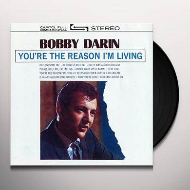 Bobby Darin YOU'RE THE REASON I'M LIVING Vinyl Record