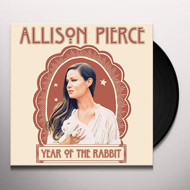 Allison Pierce YEAR OF THE RABBIT Vinyl Record