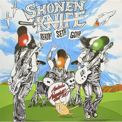 Shonen Knife READY! SET!! GO!!! Vinyl Record