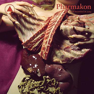Pharmakon BESTIAL BURDEN (BRUISE LP) Vinyl Record