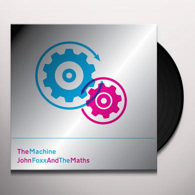 John Foxx & The Maths MACHINE Vinyl Record