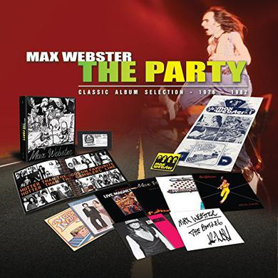 Max Webster PARTY Vinyl Record