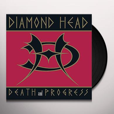 Diamond Head DEATH & PROGRESS Vinyl Record