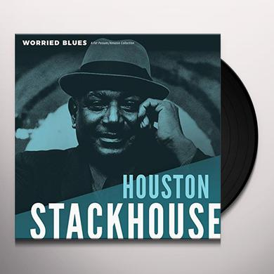 HOUSTON STACKHOUSE WORRIED BLUES Vinyl Record