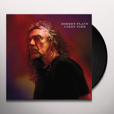 Robert Plant CARRY FIRE Vinyl Record