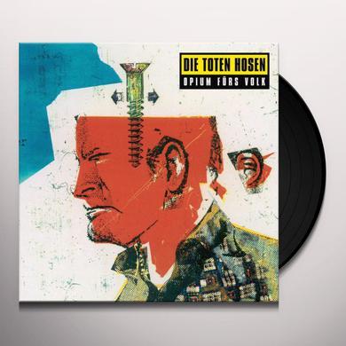 Die Toten Hosen OPIUM FUERS VOLK Vinyl Record