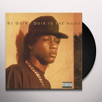 Dj Quik QUIK IS THE NAME Vinyl Record