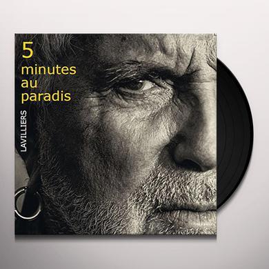 Bernard Lavilliers 5 MINUTES AU PARADIS Vinyl Record