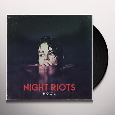 Night Riots HOWL (TRANSPARENT RED VINYL) Vinyl Record