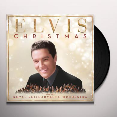 CHRISTMAS WITH ELVIS PRESLEY & ROYAL PHILHARMONIC Vinyl Record