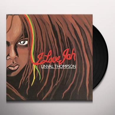 Linval Thompson I LOVE JAH Vinyl Record