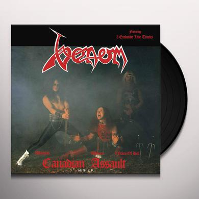 Venom CANADIAN ASSAULT Vinyl Record