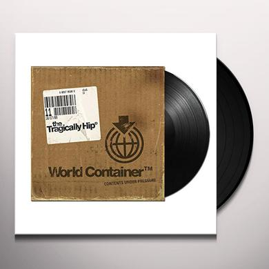 The Tragically Hip WORLD CONTAINER Vinyl Record