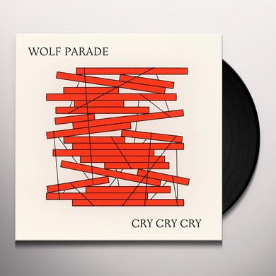 Wolf Parade CRY CRY CRY Vinyl Record