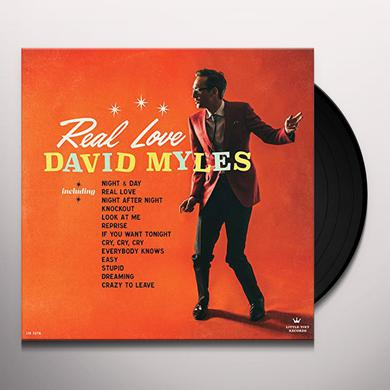 David Myles REAL LOVE Vinyl Record