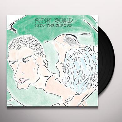Flesh World INTO THE SHROUD Vinyl Record
