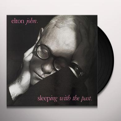 Elton John SLEEPING WITH THE PAST Vinyl Record
