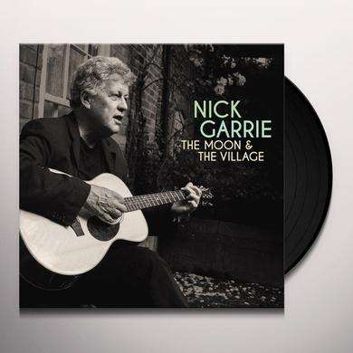 Nick Garrie MOON & VILLAGE Vinyl Record