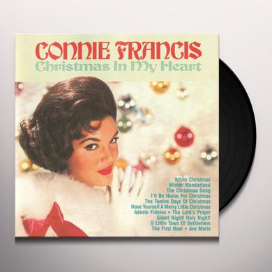 Connie Francis CHRISTMAS IN MY HEART Vinyl Record