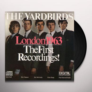 Yardbirds LONDON 1963: THE FIRST RECORDINGS! Vinyl Record