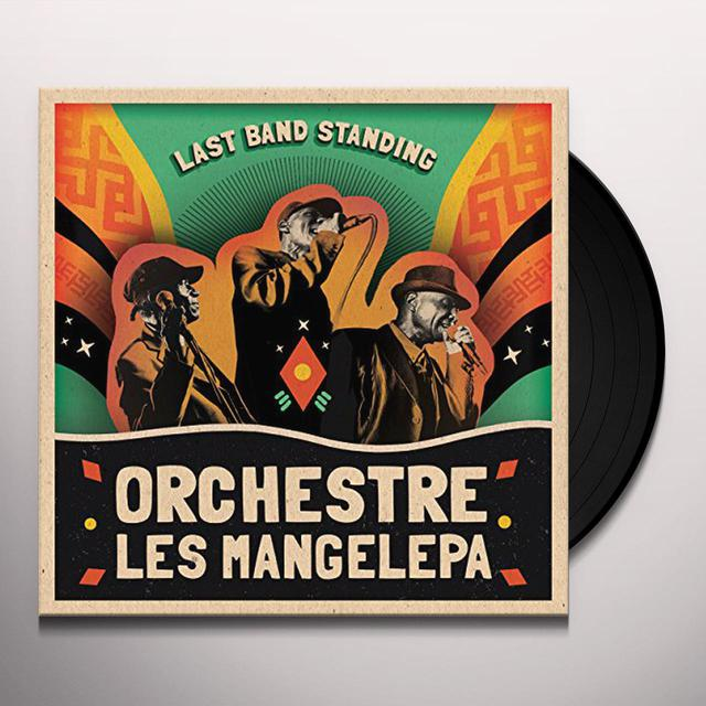 Orchestre Les Mangelepa LAST BAND STANDING Vinyl Record