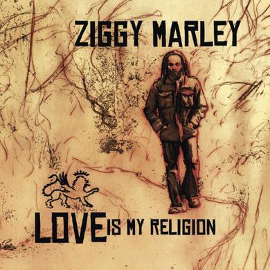 Ziggy Marley LOVE IS MY RELIGION Vinyl Record