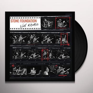 Stone Foundation LIVE RITUALS Vinyl Record