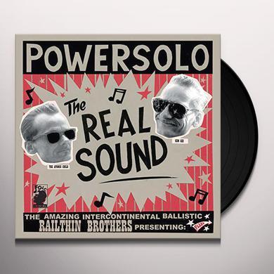 POWERSOLO REAL SOUND (SPANISH EDITION) Vinyl Record
