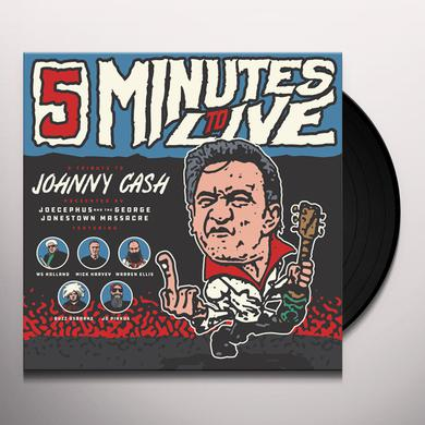 JOECEPHUS & THE GEORGE JONESTOWN MASSACRE FIVE MINUTES TO LIVE: TRIBUTE TO JOHNNY CASH Vinyl Record