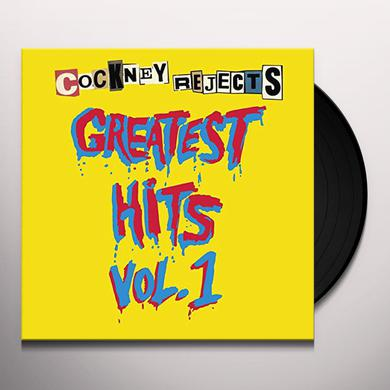 Cockney Rejects GREATEST HITS VOL 1 Vinyl Record