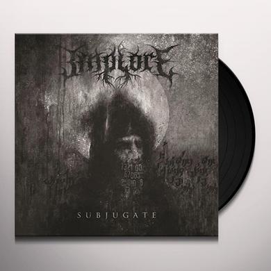 IMPLORE SUBJUGATE Vinyl Record