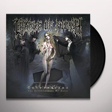 Cradle Of Filth CRYPTORIANA: THE SEDUCTIVENES Vinyl Record