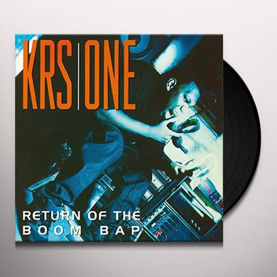 Krs-One RETURN OF THE BOOM BAP Vinyl Record