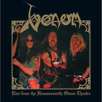 Venom LIVE FROM HAMMERSMITH ODEON THEATRE (GOLD VINYL) Vinyl Record