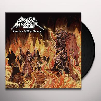 SAVAGE MASTER CREATURE OF THE FLAME (BEER COLORED VINYL) Vinyl Record