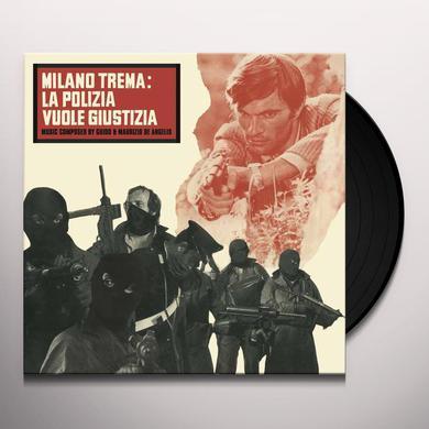Guido De Angelis / Maurizio MILANO TREMA: LA POLIZIA VUOLE GIUSTIZIA / O.S.T. Vinyl Record