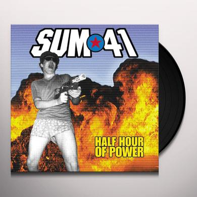 Sum 41 HALF HOUR OF POWER Vinyl Record
