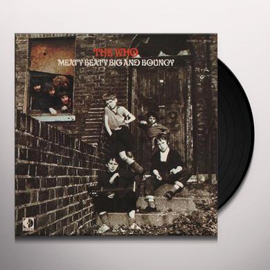 The Who MEATY BEATY BIG & BOUNCY Vinyl Record