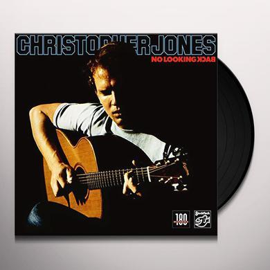 Chris Jones NO LOOKING BACK Vinyl Record