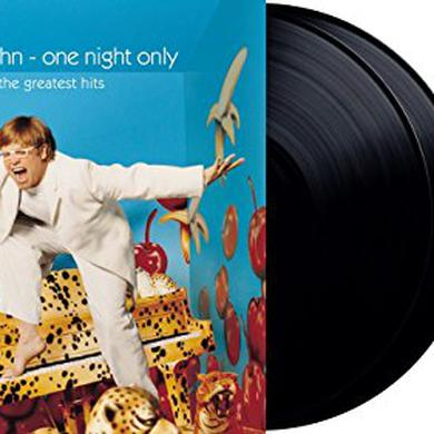 Elton John ONE NIGHT ONLY - THE GREATEST HITS Vinyl Record